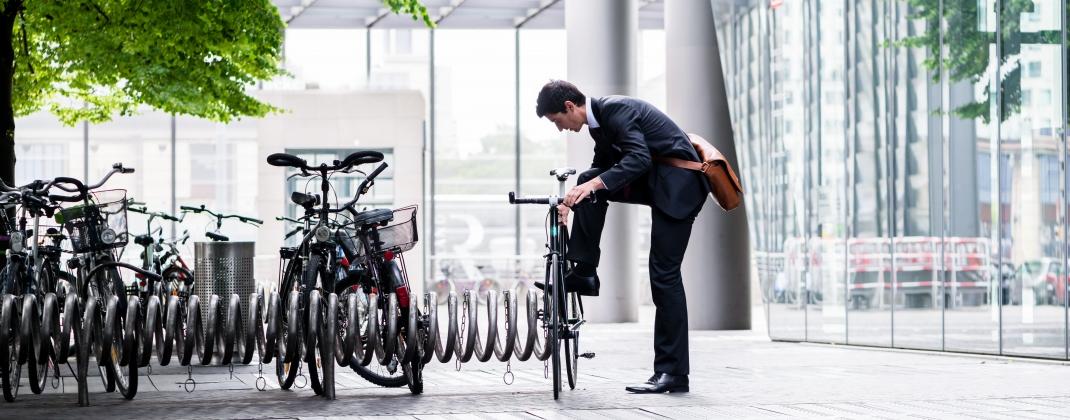Draag zorg voor uw medewerkers: moedig ze aan om te fietsen